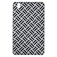 Woven2 Black Marble & Silver Glitter Samsung Galaxy Tab Pro 8 4 Hardshell Case by trendistuff