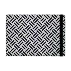 Woven2 Black Marble & Silver Glitter Ipad Mini 2 Flip Cases by trendistuff