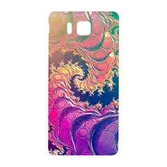 Rainbow Octopus Tentacles In A Fractal Spiral Samsung Galaxy Alpha Hardshell Back Case by jayaprime