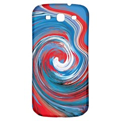 Red And Blue Rounds Samsung Galaxy S3 S Iii Classic Hardshell Back Case by berwies