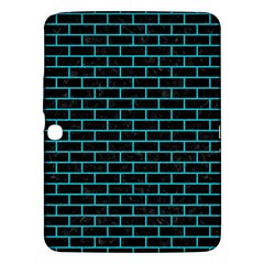 Brick1 Black Marble & Turquoise Colored Pencil (r) Samsung Galaxy Tab 3 (10 1 ) P5200 Hardshell Case  by trendistuff