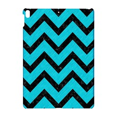 Chevron9 Black Marble & Turquoise Colored Pencil Apple Ipad Pro 10 5   Hardshell Case by trendistuff
