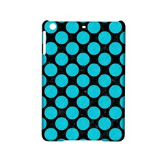 Circles2 Black Marble & Turquoise Colored Pencil (r) Ipad Mini 2 Hardshell Cases by trendistuff