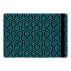 Hexagon1 Black Marble & Turquoise Colored Pencil (r) Apple Ipad Pro 10 5   Flip Case by trendistuff