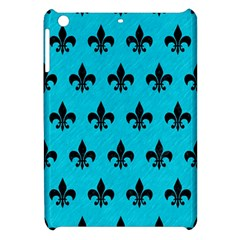 Royal1 Black Marble & Turquoise Colored Pencil (r) Apple Ipad Mini Hardshell Case by trendistuff