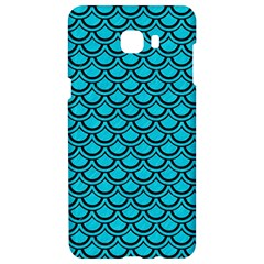 Scales2 Black Marble & Turquoise Colored Pencil Samsung C9 Pro Hardshell Case  by trendistuff