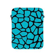 Skin1 Black Marble & Turquoise Colored Pencil (r) Apple Ipad 2/3/4 Protective Soft Cases by trendistuff