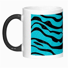 Skin2 Black Marble & Turquoise Colored Pencil Morph Mugs by trendistuff