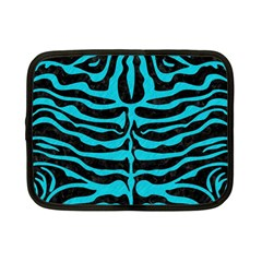 Skin2 Black Marble & Turquoise Colored Pencil (r) Netbook Case (small)  by trendistuff