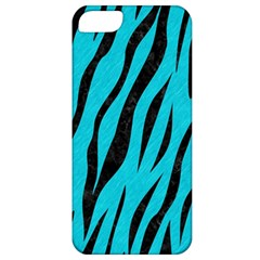 Skin3 Black Marble & Turquoise Colored Pencil Apple Iphone 5 Classic Hardshell Case by trendistuff