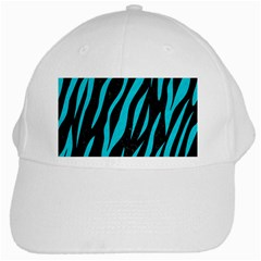 Skin3 Black Marble & Turquoise Colored Pencil (r) White Cap by trendistuff