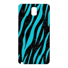 Skin3 Black Marble & Turquoise Colored Pencil (r) Samsung Galaxy Note 3 N9005 Hardshell Back Case by trendistuff