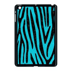 Skin4 Black Marble & Turquoise Colored Pencil (r) Apple Ipad Mini Case (black) by trendistuff