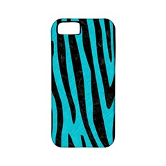 Skin4 Black Marble & Turquoise Colored Pencil (r) Apple Iphone 5 Classic Hardshell Case (pc+silicone) by trendistuff