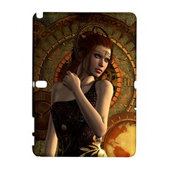 Wonderful Steampunk Women With Clocks And Gears Galaxy Note 1 by FantasyWorld7