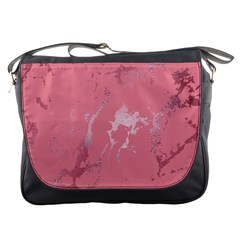 Luxurious Pink Marble Messenger Bags by tarastyle