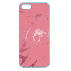 Luxurious Pink Marble Apple Seamless Iphone 5 Case (color) by tarastyle