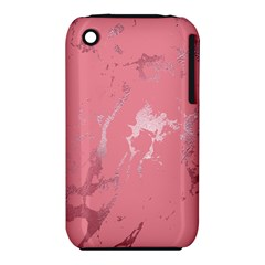 Luxurious Pink Marble Iphone 3s/3gs by tarastyle