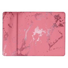 Luxurious Pink Marble Samsung Galaxy Tab 10 1  P7500 Flip Case by tarastyle