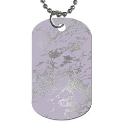 Luxurious Pink Marble Dog Tag (one Side) by tarastyle