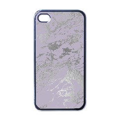 Luxurious Pink Marble Apple Iphone 4 Case (black) by tarastyle
