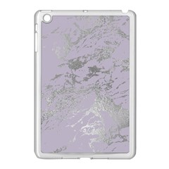 Luxurious Pink Marble Apple Ipad Mini Case (white) by tarastyle