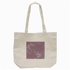 Luxurious Pink Marble Tote Bag (cream)