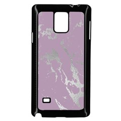 Luxurious Pink Marble Samsung Galaxy Note 4 Case (black) by tarastyle