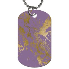 Luxurious Pink Marble Dog Tag (two Sides) by tarastyle