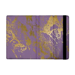 Luxurious Pink Marble Apple Ipad Mini Flip Case by tarastyle