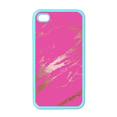 Luxurious Pink Marble Apple Iphone 4 Case (color) by tarastyle
