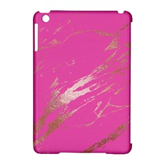 Luxurious Pink Marble Apple Ipad Mini Hardshell Case (compatible With Smart Cover) by tarastyle