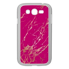 Luxurious Pink Marble Samsung Galaxy Grand Duos I9082 Case (white) by tarastyle