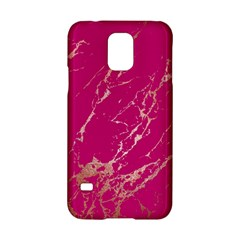 Luxurious Pink Marble Samsung Galaxy S5 Hardshell Case  by tarastyle