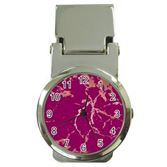 Luxurious Pink Marble Money Clip Watches by tarastyle