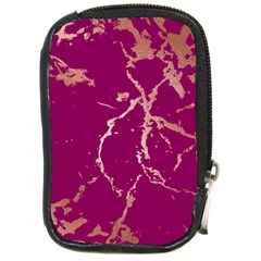 Luxurious Pink Marble Compact Camera Cases by tarastyle