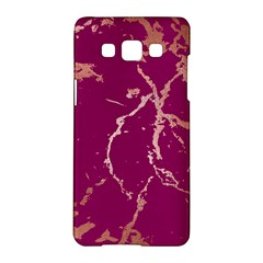 Luxurious Pink Marble Samsung Galaxy A5 Hardshell Case