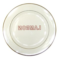 Normal Porcelain Plates by Valentinaart