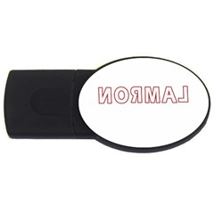 Normal Usb Flash Drive Oval (4 Gb) by Valentinaart