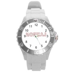 Normal Round Plastic Sport Watch (l) by Valentinaart