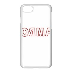 Normal Apple Iphone 7 Seamless Case (white) by Valentinaart