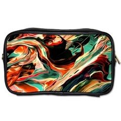 Abstract Acryl Art Toiletries Bags 2 Side by tarastyle