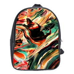 Abstract Acryl Art School Bag (xl) by tarastyle