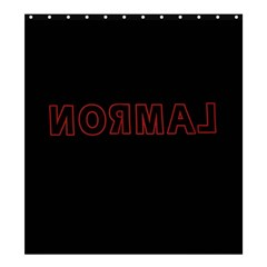 Normal Shower Curtain 66  X 72  (large)