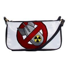 No Nuclear Weapons Shoulder Clutch Bags