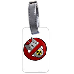 No Nuclear Weapons Luggage Tags (two Sides)