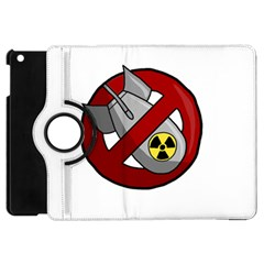 No Nuclear Weapons Apple Ipad Mini Flip 360 Case