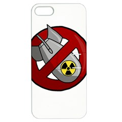 No Nuclear Weapons Apple Iphone 5 Hardshell Case With Stand