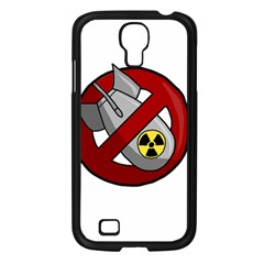 No Nuclear Weapons Samsung Galaxy S4 I9500/ I9505 Case (black) by Valentinaart