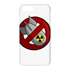 No Nuclear Weapons Apple Iphone 7 Plus Hardshell Case by Valentinaart